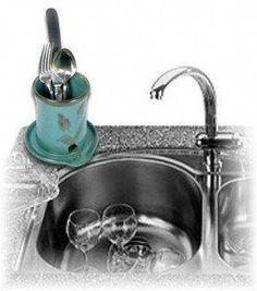Sponge Dishcloth Scrubby Holder Drainer Berry Bowl