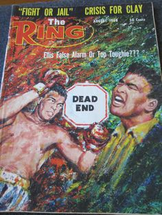 THE RING Boxing Magazine Aug 1968 Crisis for by kookykitsch, $9.99