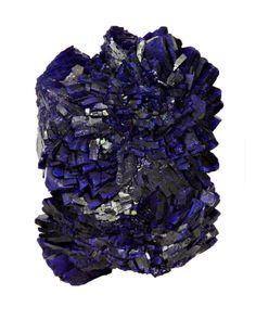 Purple Azurite from China