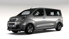 Peugeot Traveller L2 2017 3D Model .max .c4d .obj .3ds .fbx .lwo .stl @3DExport.com by CREATORD