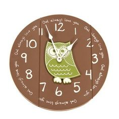 Target Mobile Site - Owl Always Love You Wall Clock by Twelve Timbers