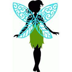 Silhouette Design Store - View Design #75293: standing fairy