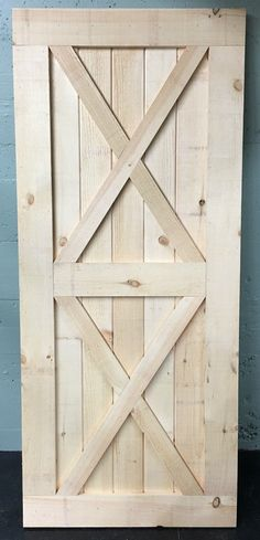 X Brace Sliding Barn Door Introductory Pricing by BarnDoorStore