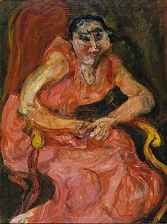 Woman In Pink 1924 | Chaim Soutine | Oil painting reproductions