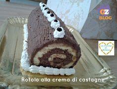 http://blog.giallozafferano.it/lacucinadimilena/rotolo-alla-crema-di-castagne/ Avete  #castagne  da utilizzare e volete un dolce? Ecco per voi il ROTOLO ALLA CREMA DI CASTAGNE