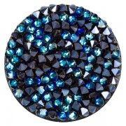 Joya Swarovski Crystal Blue:Black