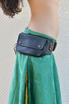Gipsy cuir Utility Belt ceinture Festival robuste par lallidesign