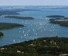 The lake district of Masuria in Poland
