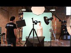 Phlearn Photoshoot Behind the Scenes: Liquid Portrait - YouTube