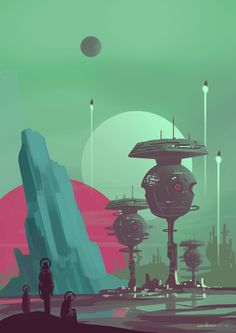 Scifi Environment, Armin Rangani on ArtStation at https://www.artstation.com/artwork/vwK4v