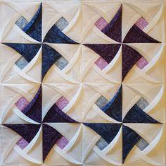Pinwheel Surprise Quilt Block Pattern Pinwheel Quilt Pattern | Etsy