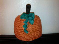 Pumpkin Hat  Fall/Halloween by JayDeeDesigns4U on Etsy, $12.50