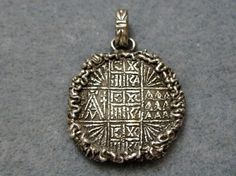 Prosphora Seal Medallion. Ok, now that's pretty cool... It would look good with my stavro medallion I got in Greece.