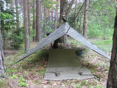 USGI PONCHO SHELTER - How to make a sturdy emergency shelter - Posted by: Jon Dougherty  August 1, 2014 -