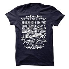 I Am A Bookmobile Driver T Shirts, Hoodies. Get it now ==► https://www.sunfrog.com/LifeStyle/I-Am-A-Bookmobile-Driver-53688647-Guys.html?41382 $22.99