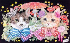 206.ヒグチユウコ「猫と少女と不気味な生物たち」 - 山田視覚芸術研究室 / Yamada
