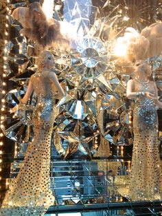 Bergdorf's Windows.  VanessaLarson.com