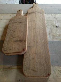 kaasplank van oud sloophout