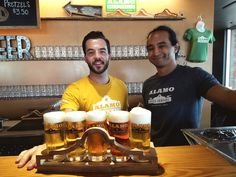 Come buy a flight of Alamo Beer at our beer hall.  We're open to the public Thursday - Sunday.
