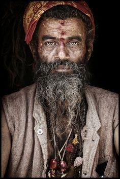 Sagesai Baba, a sadhu Hindu in Delhi, India. By Mario Gerth via flickr