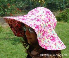 Chapeau de soleil à large bord