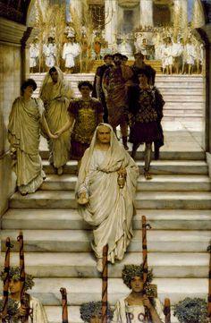 The Triumph of Titus: The Flavians (1885)