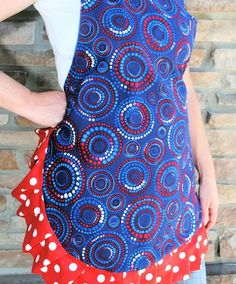 How to Make a Cute, Ruffle Apron by CrazyLittleProjects.com