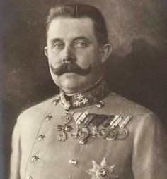 Archduke Franz Ferdinand -was an Archduke of Austria-Este, Austro-Hungarian and Royal Prince of Hungary and of Bohemia and, from 1896 until his death, heir presumptive to the Austro-Hungarian throne. Archduke, Dark House, Austro Hungarian, Royal Prince, Ferdinand, Lady And Gentlemen, World War I, Wwi, Austria