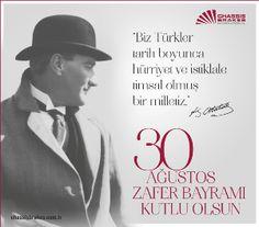 """✿ ❤ """"Biz Türkler tarih boyunca hürriyet ve istiklale timsal olmuş bir milletiz."""" Kemal ATATÜRK..."""