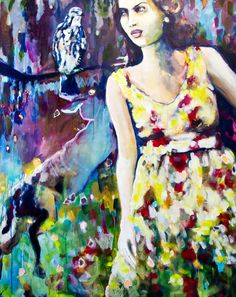 Disapperaring  160 x 120 cm  Acryl auf Malgrund  2015