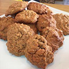 Cookie 100% integral sem açúcar