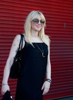 Courtney Love at Wang. #nyfw #spring2014