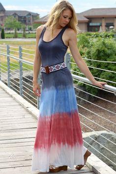 NanaMacs Boutique - Dream Weaver Tye Dye Maxi Dress, $44.00 (http://www.nanamacs.com/dream-weaver-tye-dye-maxi-dress/)