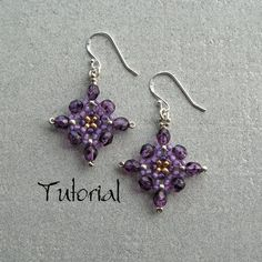 Free+Bead+Patterns | Earring Patterns : Beading Patterns and kits by Dragon!, The art