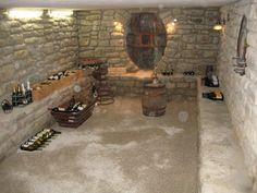 Abaissement du sol de la cave avec banquette