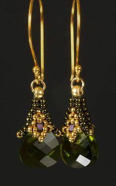 Instant download  Rania  Dangle Earrings  Beading Pattern