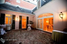 Private courtyard perfect for small parties at the Bourbon Orleans Hotel St. Ann Cottage. www.bourbonorleans.com