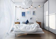 Camera da letto in stile scandinavo 25