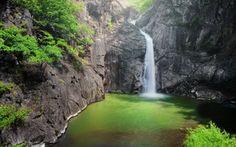 водопад, водопады, природа, пейзаж, водоем
