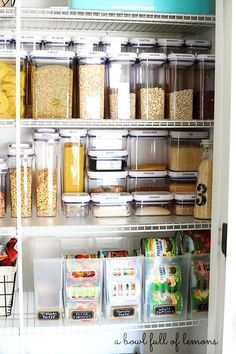 Pantry Organization: Tips For A Creating A Healthy Pantry . 20 Stylish Pantry Ideas Best Ways To Design A Kitchen Pantry. The Best Pantry Organizing Tips I Used To Organize My Own . Organisation Hacks, Kitchen Organization Pantry, Kitchen Pantry, Organized Pantry, Pantry Ideas, Food Storage Organization, Kitchen Cleaning, Pantry Can Organizer, Plastic Storage Containers
