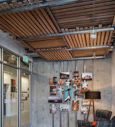 Drop Ceiling in Hammer & Hand Office Seattle, WA