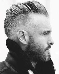 Best Short Men Haircut Looks Grey 13 Mohawk Hairstyles Men, Cool Hairstyles For Men, Cool Haircuts, Haircuts For Men, Hipster Hairstyles, Hairstyle Men, Mens Haircuts Balding, Classy Hairstyles, Black Hairstyles