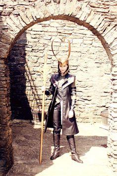 Awesome Loki Cosplay Costume.
