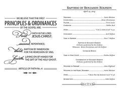 Benbaptism Page 1 Baptism PartyBaptism GiftsLds ProgramCleaning