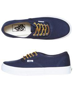 Vans Authentic Slim Navy Blue