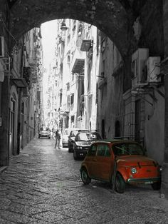 Napoli #Fiat 500