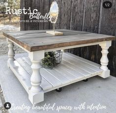 Coffee table farmhouse - Monastery Chunky Maple Farmhouse Bench Legs Set of 4 Unfinished Maple 3 5 x 3 5 x 16 ~ Made – Coffee table farmhouse Made Coffee Table, Coffee Table Makeover, Coffee Table Design, Diy Coffee Table Plans, Redone Coffee Table, Painted Coffee Tables, Wood Tables, Side Tables, Farmhouse Living Room Furniture