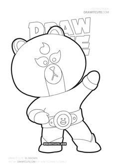 disegni di brawl stars da colorare nel 2020 | disegni, disegni da colorare e illustrazioni