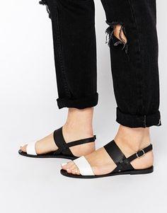 Park Lane Strap Flat Sandals