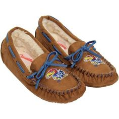 Kansas Jayhawks Ladies Kenai Slippers